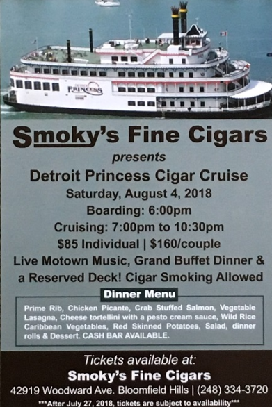 smokys cigar cruise